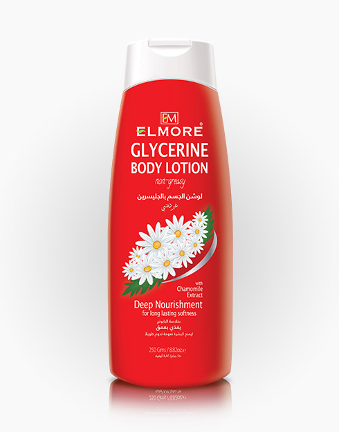 Elmore Glycerine Body Lotion with Chamomile Flower Extract