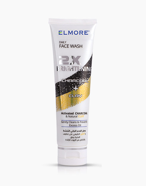 Elmore Charcoal and Clay Whitening Face Wash